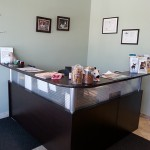 reception area at Highland Creek Animal Clinic in Toronto, ON